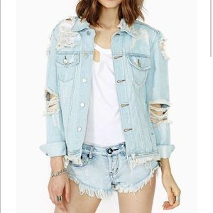 ISO. UNIF outsider denim jacket